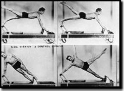 Pilates using the reformer